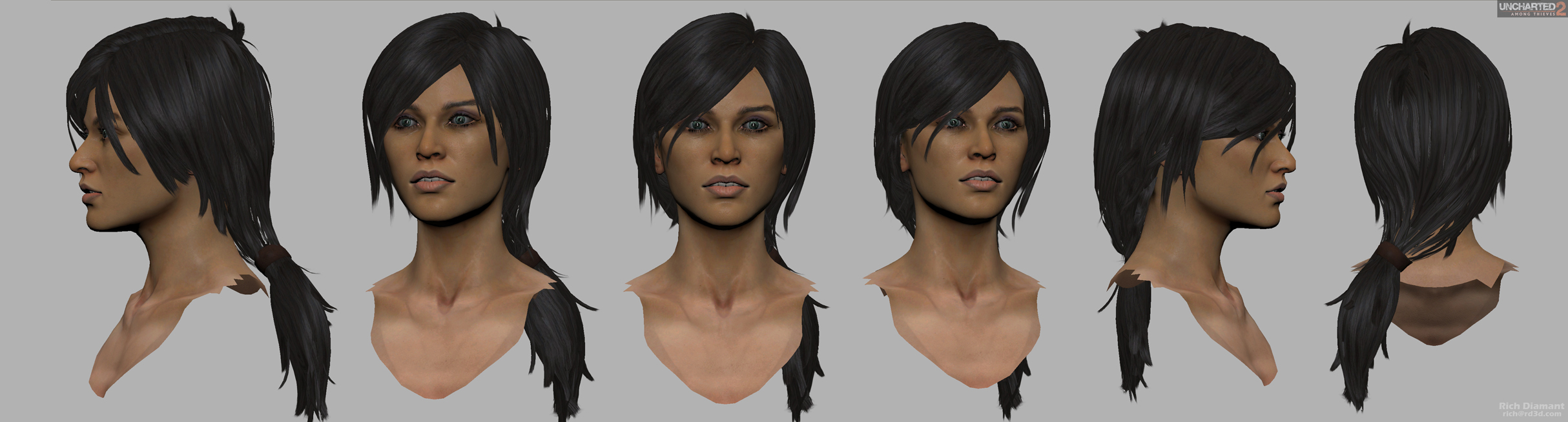 HairTechnique Polycount